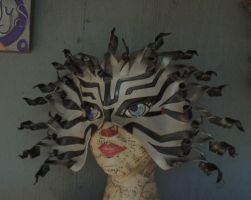 Lionfish mask by faerywhere