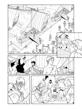 Ares Page25-inks by JorgeCorrea