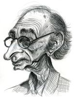 David Kelly as Grandpa Joe by Caricature80