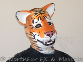 Spandex Tiger Mask by sjgarg