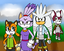 Sonic Boom: Team Dimension Redesign by Abayx