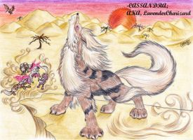 Arcanine Hunt by xilven