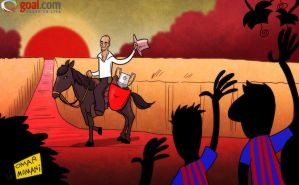 Pep rides off into the Spanish sunset by OmarMomani