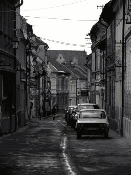 Empty street by d7baly