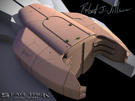 Garak Class Cruiser part 3 by XFozzboute
