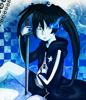Black Rock Shooter by BlubberBooty