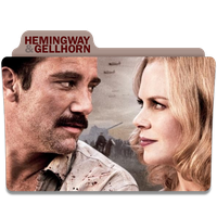 Hemingway and Gellhorn Folder Icon by efest