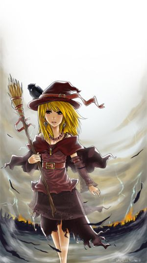 A young witch by marimbamonkey14 - Cad�Lara AvatarLar :)