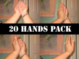 20 hands pack by minystock