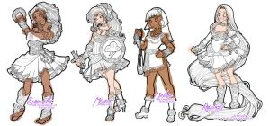 Disney Magical Girl - Progress 3 by van-etheran