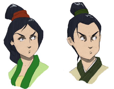 Mulan + Ping by onyx-the-conqueror
