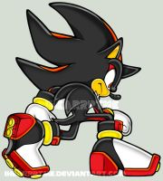 SA-style Shadow The Hedgehog by ihearrrtme