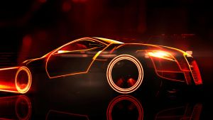 Audi AR0 Tron Red by Scotchlover