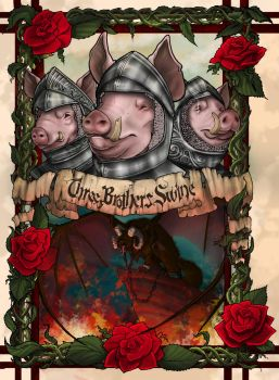 Three Brothers Swine by AlyssaCubero