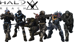 Halo Reach Noble Team by ToraiinXamikaze