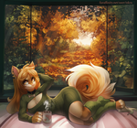 Autumn Lady by Zengel