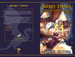 Secret Things: Panamindorah Vol 2 - cover layout by jeffmcdowalldesign