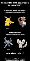 For Pokemon Gen5 haters by Reina-Kitsune