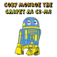 Clever Wars - Coby Monroe the Carpet as C2-M2 by Magic-Kristina-KW