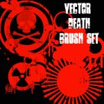 Vector Death Brushes by dur-ham