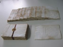 Enoldenated Paper by toenolla