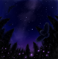 The night has wings by grayma1k