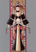 The Queen of Swords by Ludi-Price