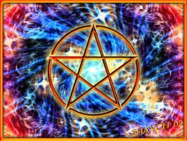 Flame Pentacle by shaych03
