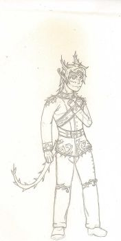 The Prince of the Rose Demons by The-Swordman-Wolf