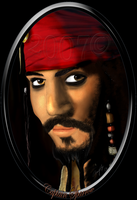 Capt. Jack Sparrow drawing by andys184
