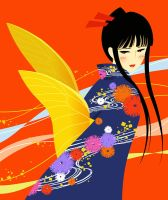 butterfly by rin-sarasara