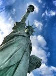 Beneath Statue of Liberty by Cloudwhisperer67