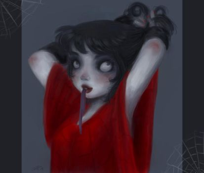 Beetlejuice - Lydia Deetz by rally-ae