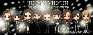 SNSD RUNDEVILRUN group by squeegool