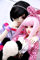 Two friends and a panda. II by ForeverResin