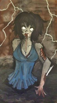 From The Lightening Zombie by Artistic-Kindness