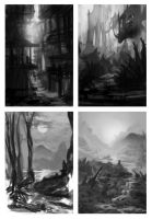 Environment thumbnails by Lyno3ghe