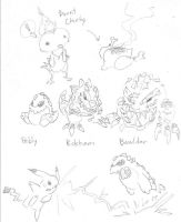 Original Pokemon by Equussapiens