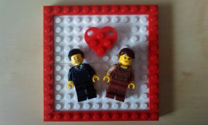 Minifigures in Love by MG18