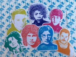 Stickers (Rock Stars) by BipolarBrand