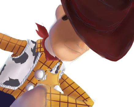 Woody Speed Paint by Roonifer