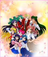 Sailor Moon Crystal part 1 by Jouny974