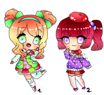 Chibi Girl Adopts CLOSED by ShiToHoshisaki