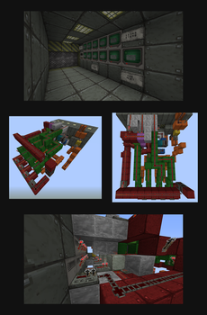 Minecraft Combination Lock v3 (+ download link) by CrazyRonn