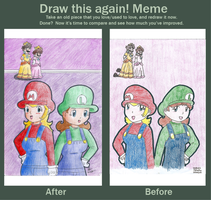Meme before and after : Switch by daisy4ever1997