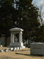 Square Tombstone by BohemianHarlot