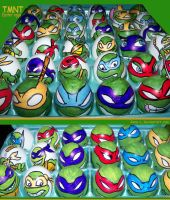 TMNT-Easter Eggs by Rene-L
