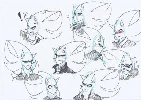 various sketches of Nazo by klaudiapasqui