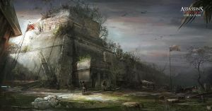 Assassin's Creed III :Liberation . Ball Court by nachoyague