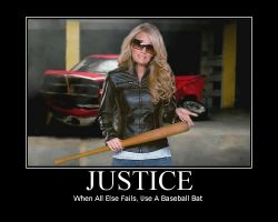 JUSTICE: When All Else Fails.. by Timekeeperxx